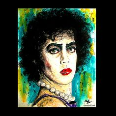 Hey, I found this really awesome Etsy listing at https://www.etsy.com/listing/213867255/print-8x10-dr-frank-n-furter-rocky-horor