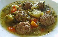 Γιουβαρλάκια σούπα με λαχανικά!... ΤΑ ΜΠΟΥΛΟΥΚΙΑ ®