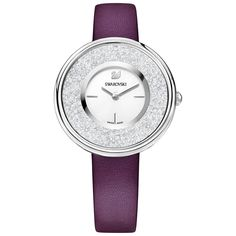 Swarovski Crystalline Pure Watch, Purple, 5295355 | Duty Free Crystal | Duty Free Crystal