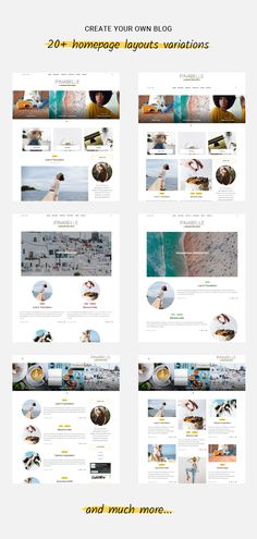 Pinabelle personal blog theme