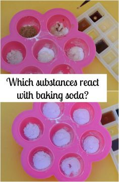 what reacts with baking soda