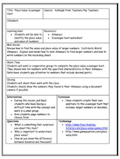 39 Best Lesson Plan Templates Images In 2020 Lesson Plan