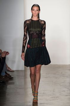 32 photos of Sophie Theallet at New York Fashion Week Spring 2015.