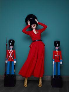 Ulyana Sergeenko for GARAGE magazine S/S 2012. Photo: Nick Sushkevich.