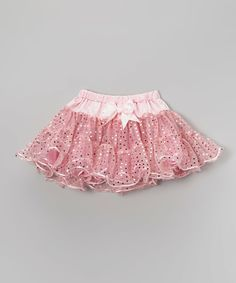 Another great find on #zulily! Wenchoice Pink Bow Pettiskirt - Infant & Girls by Wenchoice #zulilyfinds