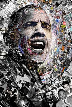 "Title: ""I Am Not A Perfect Man"", 27x39 Inch Obama poster. Signed offset…"