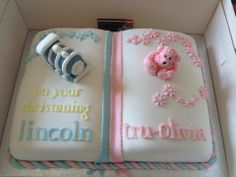 christening brother and sister | Home » Christening Cakes » Book Christening