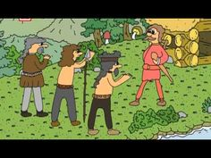 Staré pověsti česke - 02 O Krokovi a jeho dcerách Family Guy, Comics, Youtube, Fictional Characters, Literature, Historia, Comic Book, Fantasy Characters, Comic Books