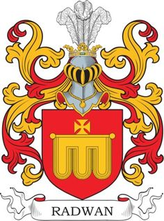 Radwan Family Crest and Coat of Arms