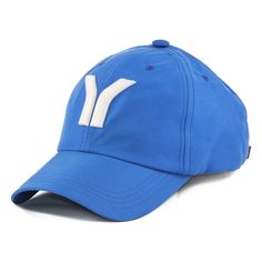 Boné Durval Lelys azul com bordado Y grande branco a1ba7948251