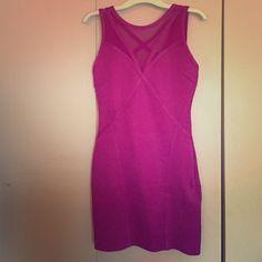 Pink bandage dress Pink/purple bandage dress Dresses Mini