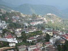 Mussoorie - the foothills of the Himalayas, India