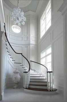 Contraste chão/escada