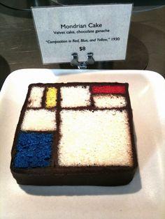 Mondrian cake.