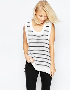 Brave+Soul+Striped+Sleeveless+Jumper Love this top, has a superb quality and fits perfect!!!