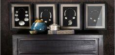 """Nueva campaña """"ETHNICS& OILS"""" Cuadros con diseños de collares de tribus o medallones. Óleos elegantes y de colores suaves. Una mezcla de tendencias que unidas crearán en tu hogar un ambiente acogedor y con personalidad"""
