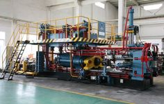Hydraulic Extrusion Press  #AluminiumExtrusion