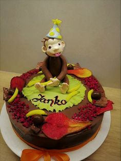 Curious George Cakes, Desserts, Kids, Food, Tailgate Desserts, Postres, Deserts, Essen, For Kids