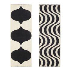 IKEA - TILLFÄLLE, Vloerkleed, glad geweven, Het vloerkleed is keerbaar, zodat het langer meegaat, omdat het aan beide kanten hetzelfde patroon heeft.