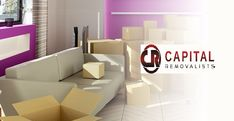 Our #House Movers at Capital #Removalists can take care of packing, moving your boxes and even unloading and unpacking them at your new home for you.