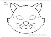 Printable Animal Masks: Cat Mask Cat Mask Coloring Page – Craft Jr. Cat Template, Templates Printable Free, Printables, Printable Animal Masks, Boys Quilt Patterns, Cat Ages, Cat Mask, Paper Mask, Secret Life Of Pets