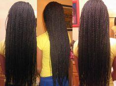Senegalese twist | African curls