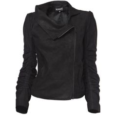 Leather Angelina Jacket - Ann Demeulemeester - CoutureLab.com ($2,825) found on Polyvore