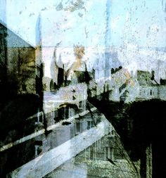 "Didier Cordy, ""The skyline dreamscape ..."" on ArtStack #didier-cordy #art"