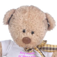 Personalised Patch Bear Soft Toy Our Tatty Teddy makes a wonderful personalised teddy bear gift a perfect gift for many occasions. http://www.comparestoreprices.co.uk/soft-toys/personalised-patch-bear-soft-toy.asp