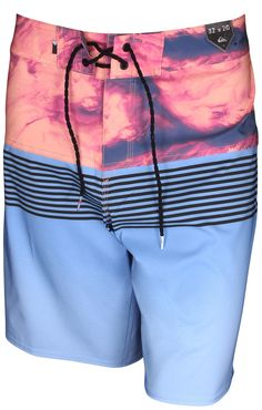 Silver Lake Blue Quiksilver Mens New Everyday Chino Shorts