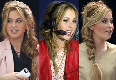 Tara Lipinski's fishtail braid is having a hair moment!
