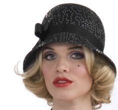 Sequin Flapper Hat - Hats