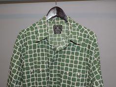 Lucky Brand Big Man Green/White Plaid 100% Cotton Snap Button Western Shirt 2XL  #LuckyBrand #Western