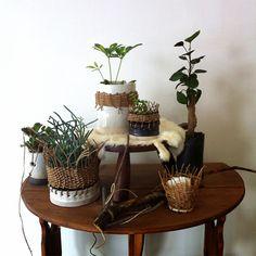 amazing project idea // ceramic weaving base