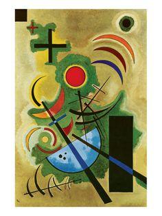 Solid Green, Wassily Kandinsky  Art Experience NYC: www.artexperiencenyc.com