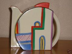 Tea Pot Art Deco
