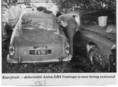 """ZEBARN"" PROJECT : DB4 Aston Martin, Scrapbook, Barn Finds, Messenger Bag, Satchel, Backpacks, Projects, Bags, Satchel Purse"
