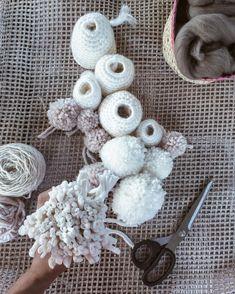 White corals  tags: #handmadeisbetter #handmade #handmadewithlove #makersmovement #makersgonnamake #makersmagazine #makersvillage #handmake #wool #traditional #traditionalart #art #artist #coral #reef #white #fiber #fiberart #craftposure