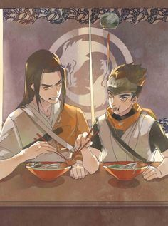 Overwatch Young Hanzo and Young Genji Overwatch Dragons, Overwatch Hanzo, Overwatch Comic, Overwatch Fan Art, Genji Shimada, Hanzo Shimada, Shimada Brothers, Young Hanzo, Genji And Hanzo