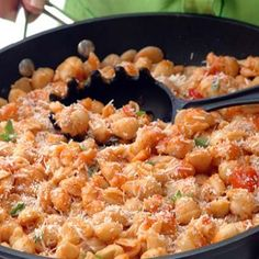 Supper is ready in 15 minutes! Provides a balanced meal for adults and children.