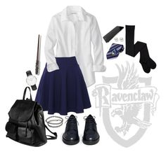 """""""Ravenclaw uniform"""" by annilinna on Polyvore                                                                                                                                                                                 More"""