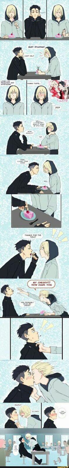 Seems like something Yurio would do xD: