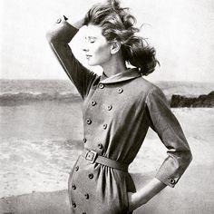 Suzy Parker, photo by Richard Avedon, Harper's Bazaar August 1957