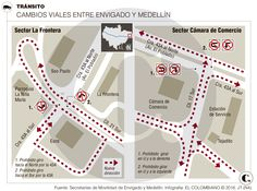Cambios viales en el sector La Frontera
