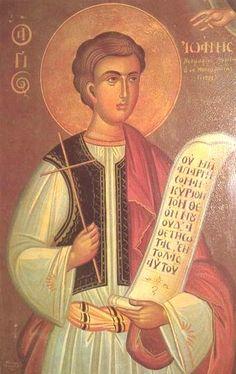 Holy New Martyr John of Monembasia (1773)
