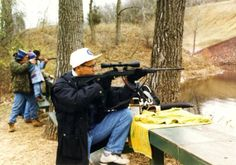 hubby loved this place, first time I shot a gun;  CraigsLostChicago
