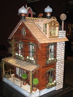steampunk dollhouse by Laurie Rossbach