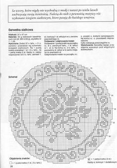 Crochet Doily added 29 new photos to the album: Robotki Nr. Filet Crochet Charts, Crochet Doily Patterns, Crochet Doilies, Crochet Home, Love Crochet, Beautiful Crochet, Crochet Table Runner, Crochet Tablecloth, Cross Stitch Rose