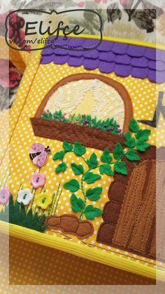 Мастерская Elifçe : Развивающая книжка № 21 Кукольный дом и Галерея развивающих пособий