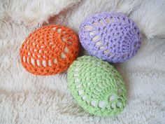 DIY Tutorial - How to Crochet an Egg - Lace Covered Eggs - Collab with Lorrie Popow Easter Egg Pattern, Easter Crochet Patterns, Afghan Crochet Patterns, Crochet Angels, Irish Crochet, Free Crochet, Easter Bunny Pictures, Crochet African Flowers, Pineapple Crochet